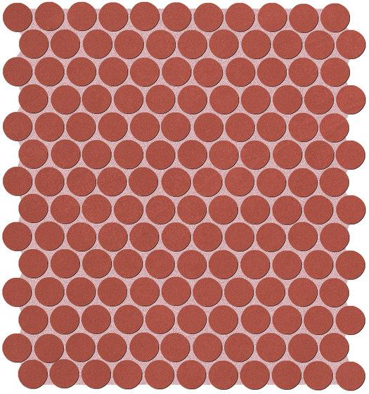 Color Line Marsala Round Mosaico di Fap Ceramiche   Mosaici ceramica