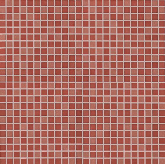 Color Line Marsala Micromosaico di Fap Ceramiche | Mosaici ceramica