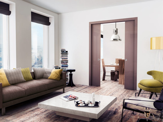 Base Double by Scrigno | Internal doors