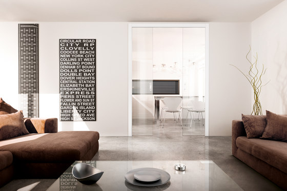 Base Double by Scrigno | Internal doors
