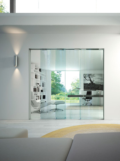 Essential Trial by Scrigno | Glass room doors