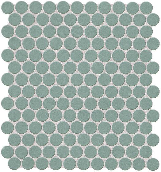Color Line Salvia Round Mosaico di Fap Ceramiche | Mosaici ceramica