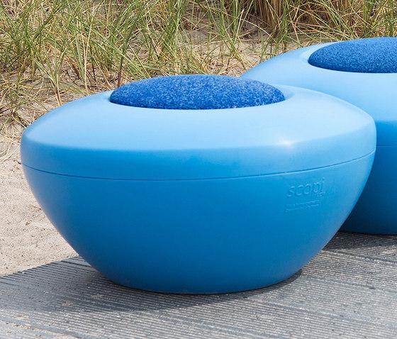Scoop | Scopi Seat Blue by Manga Street | Modular seating elements