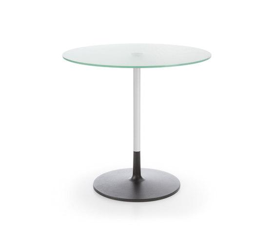 Chic table RR20 white G1 von PROFIM | Objekttische