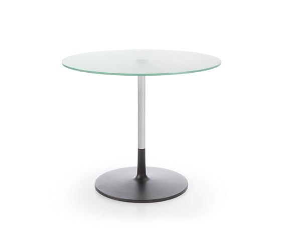 Chic table RR30 white G1 von PROFIM | Objekttische