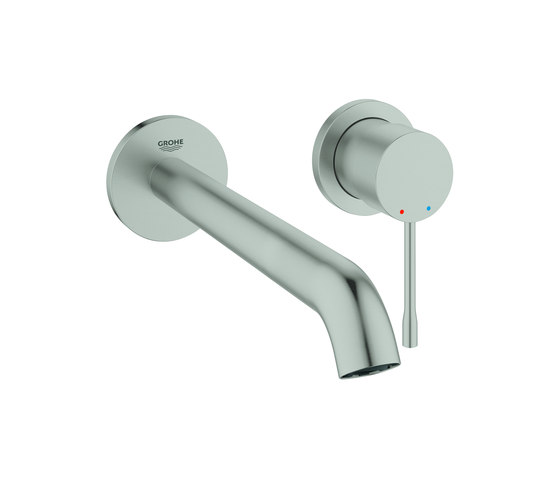 Essence 2-hole basin mixer L-Size by GROHE | Wash basin taps