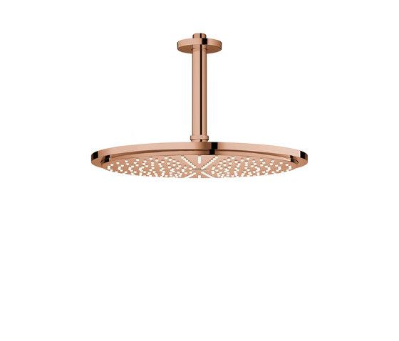 Rainshower Cosmopolitan 310 Head shower set ceiling 142 mm, 1 spray by GROHE | Shower controls