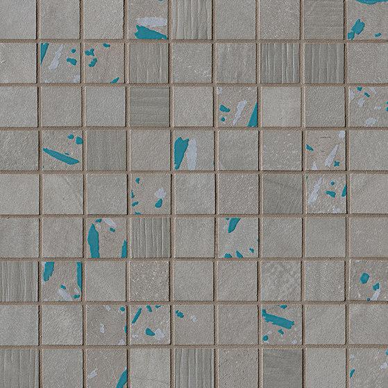 Connection Grey Deco Mosaico by Fap Ceramiche | Ceramic tiles