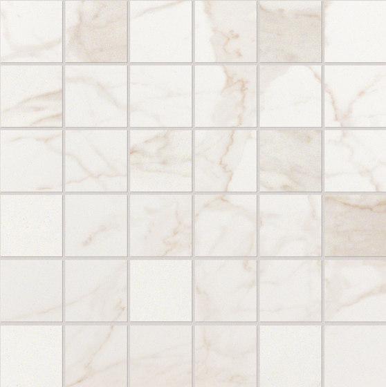 Roma Diamond Calacatta Macromosaico di Fap Ceramiche | Piastrelle ceramica