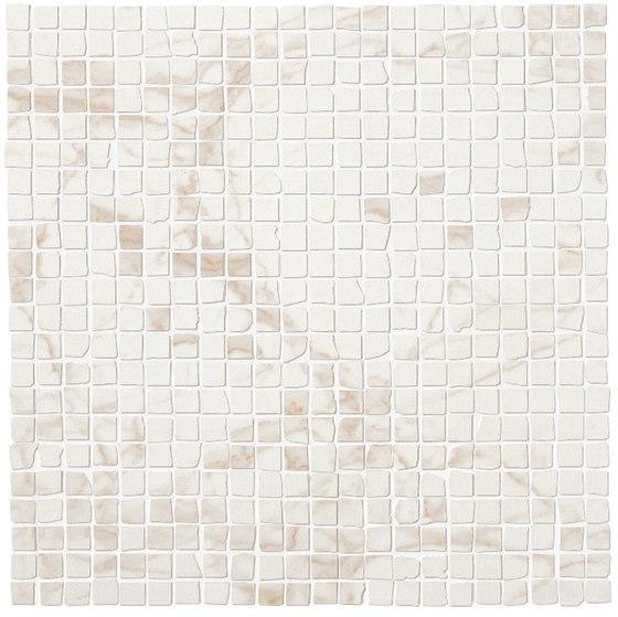 Roma Diamond Calacatta Micromosaico von Fap Ceramiche | Keramik Fliesen