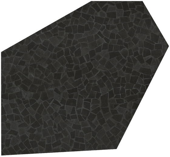 Roma Diamond Caleido Frammenti Black by Fap Ceramiche | Ceramic tiles