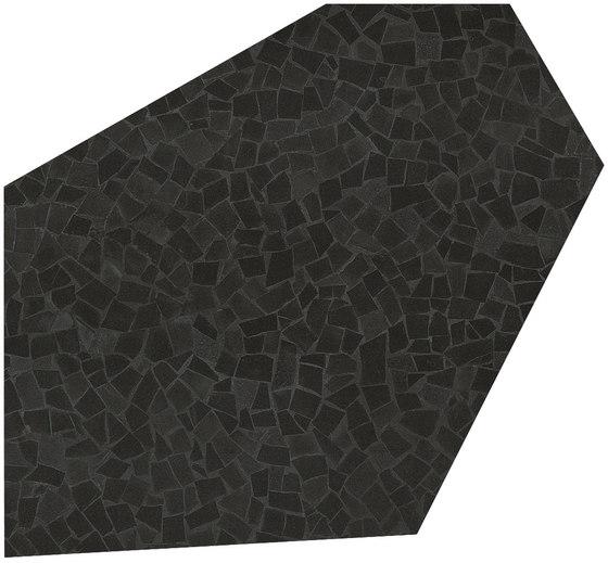 Roma Diamond Caleido Frammenti Black de Fap Ceramiche | Baldosas de cerámica