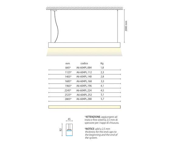 Line Pro Light hanging system von Aqlus | Pendelleuchten