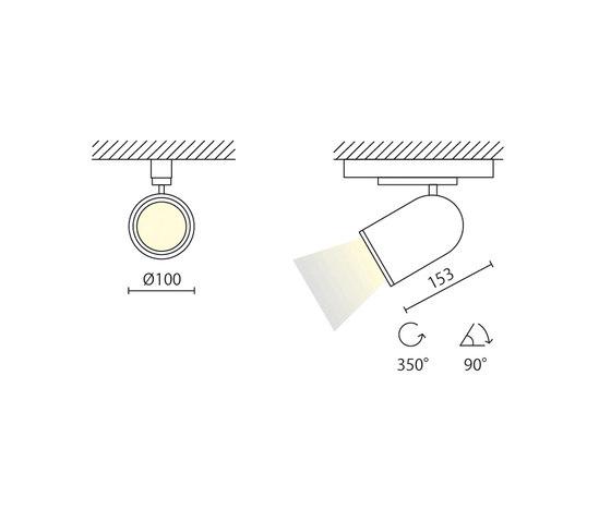 Arco di binario von Aqlus | Deckenleuchten