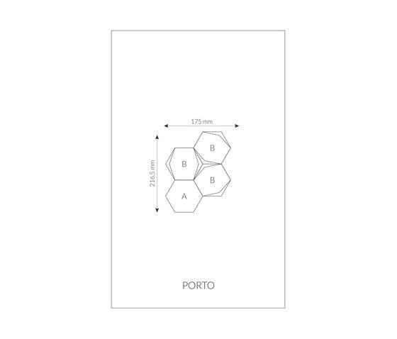 Marque | Porto von Pintark | Leder Fliesen