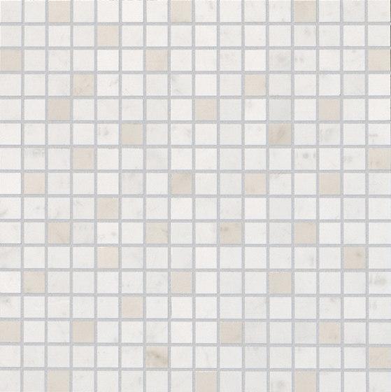 Roma Diamond Carrara Mosaico by Fap Ceramiche | Ceramic tiles