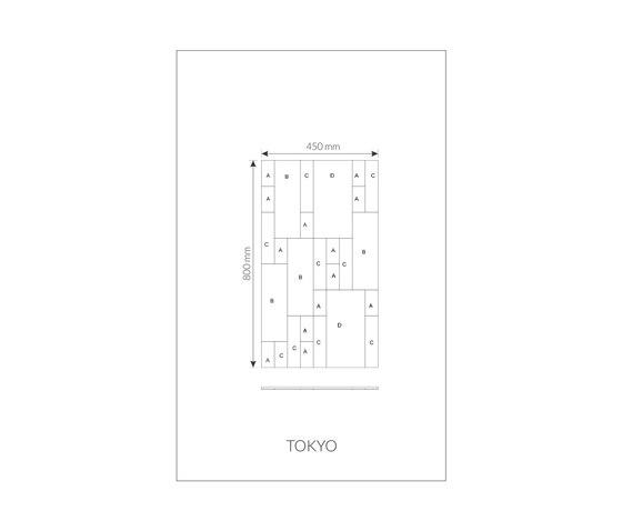 Marque | Tokyo de Pintark | Baldosas de cuero