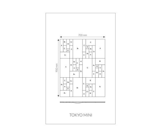 Marque | Tokyo Mini di Pintark | Piastrelle cuoio