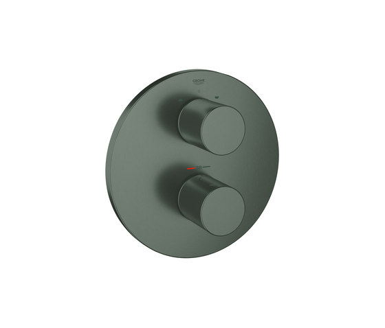 Grohtherm 3000 Cosmopolitan Thermostat with integrated 2-way diverter by GROHE | Bath taps