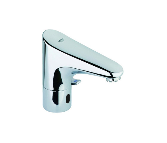 """Europlus E Bluetooth Infra-red electronic basin tap 1/2"""" with mixing device by GROHE   Wash basin taps"""