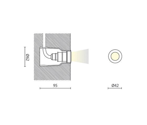 ZJ2 di Aqlus | Lampade soffitto incasso
