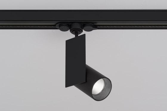 Mur Ø60 230V track spotlight de Aqlus | Plafonniers