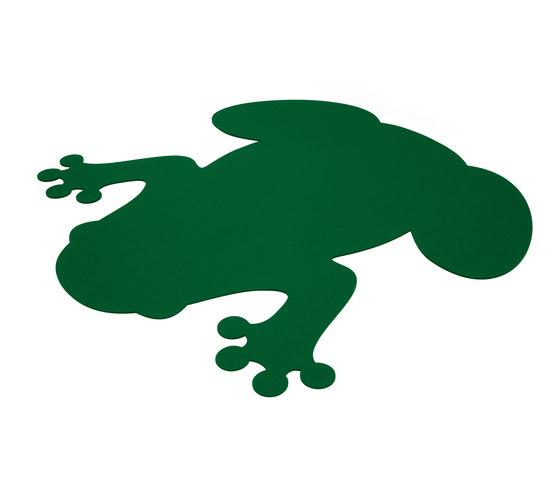 Figürliche Teppiche, Frosch von HEY-SIGN | Formatteppiche