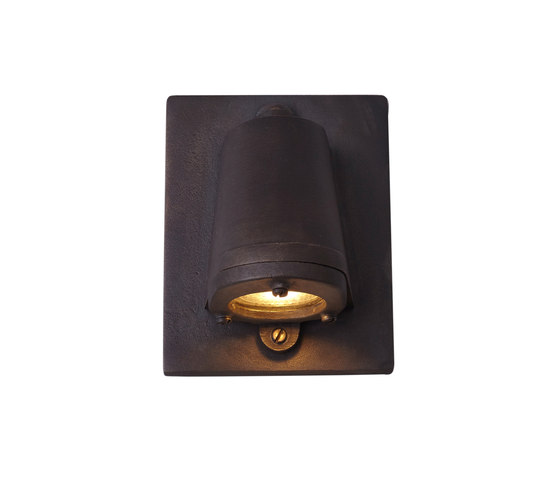 0749 Mast Light, mains voltage + LED, Sandblasted Bronze Weather de Original BTC | Appliques murales