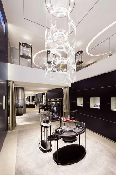 """Bespoke Chandelier """"Montblanc"""" by Windfall 