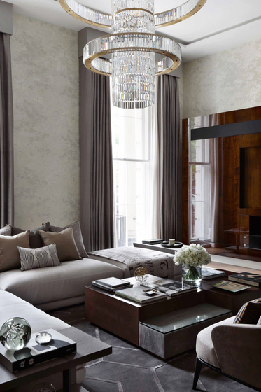 "Bespoke Chandelier ""Jewel Special"" by Windfall 