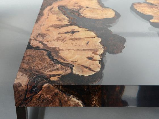 Undergrowth | Creek Low Table Plum de Alcarol | Mesas de centro