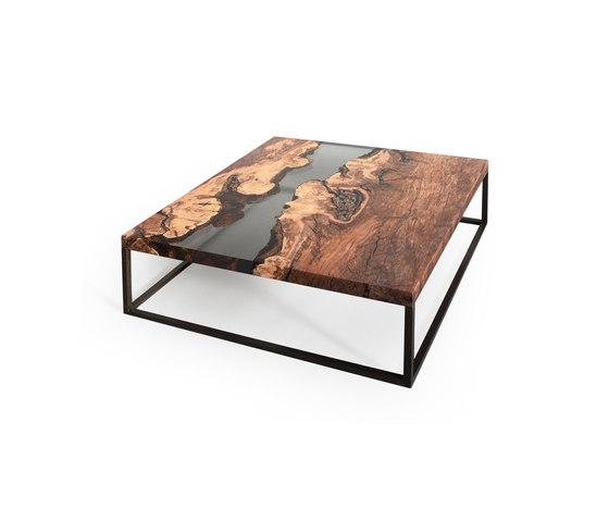 Undergrowth | Creek Low Table Plum by Alcarol | Coffee tables