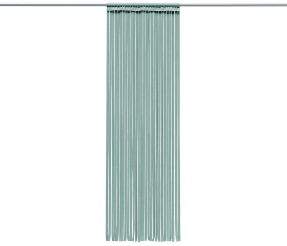 Curtain Stripe by HEY-SIGN | Sound absorbing suspended panels