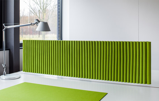 Wave suspended module by HEY-SIGN   Sound absorbing suspended panels