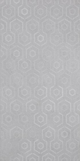 Grecale Acciaio Hologram di Refin | Piastrelle ceramica