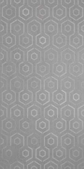 Grecale Grafite Hologram by Refin | Ceramic tiles