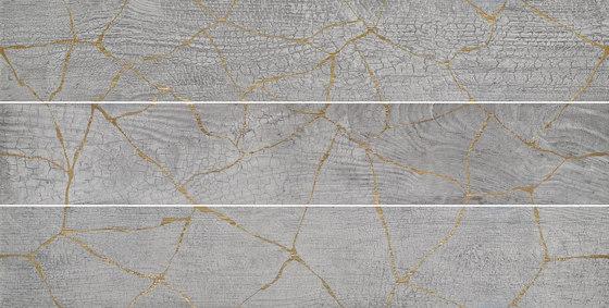 Kasai Smoke Kintsugi by Refin | Ceramic tiles