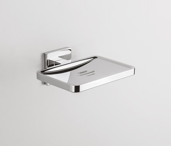 BasicQ | Irremovable soap dish holder by COLOMBO DESIGN | Soap holders / dishes