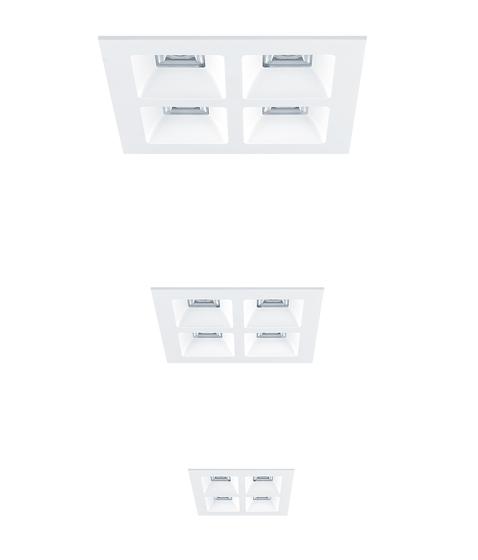 MIREL evolution von Zumtobel Lighting | Deckeneinbauleuchten