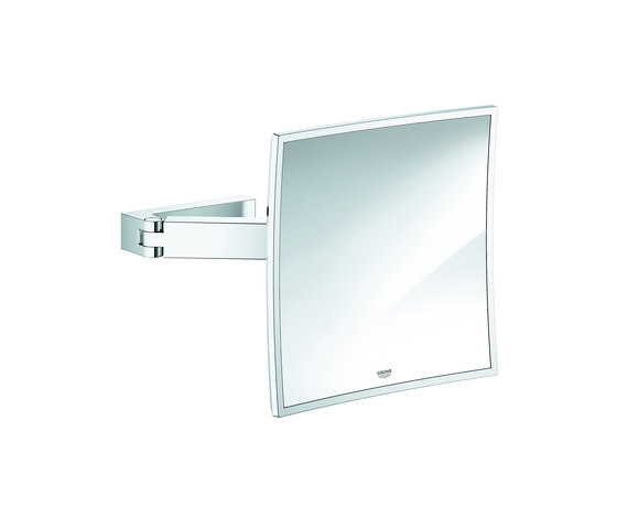 Selection Cube Cosmetic mirror by GROHE | Bath mirrors