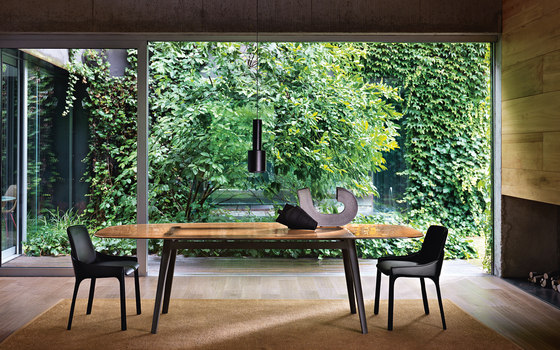 MAGMA table by Fiam Italia | Dining tables