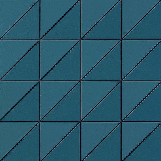Arkshade blue mosaico by Atlas Concorde | Ceramic mosaics