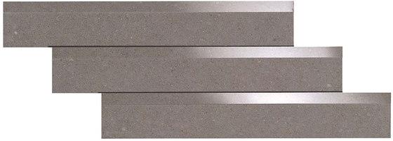 Kone grey by Atlas Concorde   Ceramic mosaics