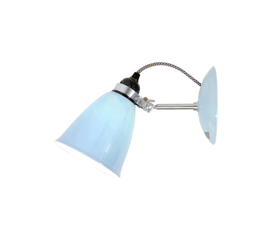 Hector Medium Dome Wall Light, Light Blue de Original BTC | Appliques murales