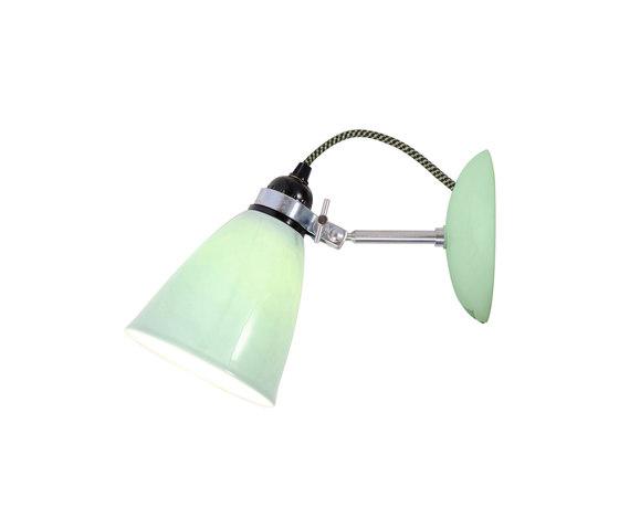 Hector Medium Dome Wall Light, Light Green by Original BTC | Reading lights