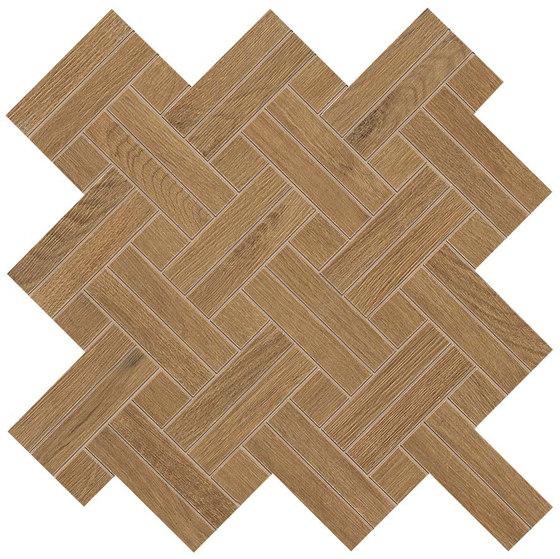 Nid whisky mosaico intreccio by Atlas Concorde | Ceramic tiles