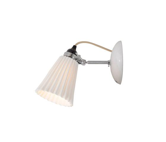 Hector Medium Pleat Wall Light, Natural by Original BTC | Wall lights