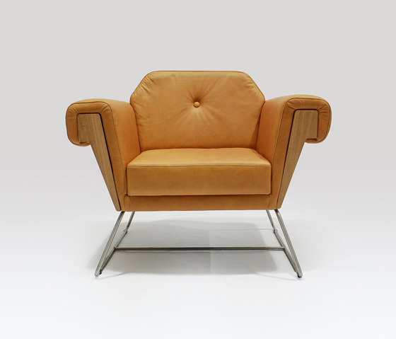 Hove Club | Chair Leather by Liqui Contracts | Armchairs