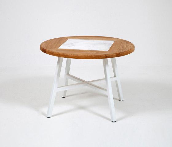 Studio | Round Coffee Table Marble di Liqui Contracts | Tavolini da salotto