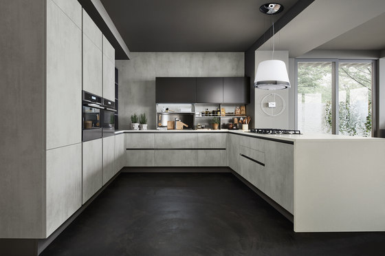 Oyster Decorativo by Veneta Cucine | Fitted kitchens